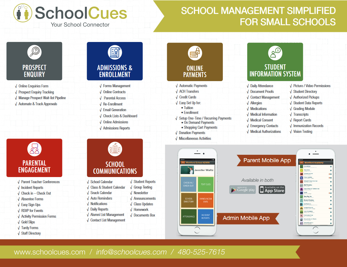 School Management System for Increasing Parent Engagement